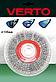 Щітка дискова 125мм*20мм, рифлений дріт, стальна, 62H210, Verto, фото 2