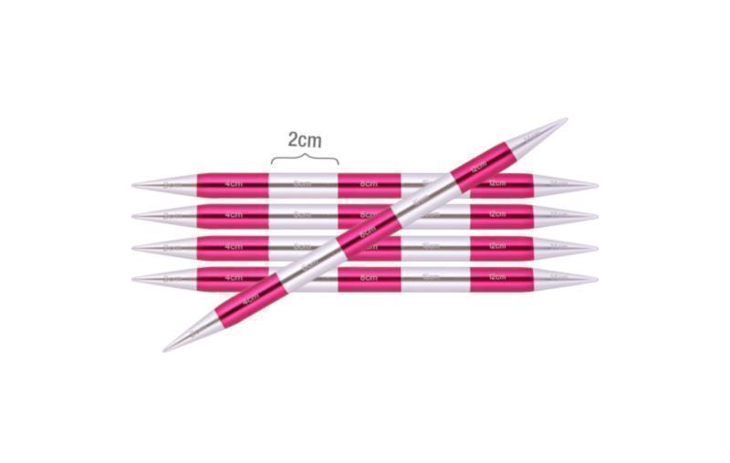 Спицы носочные 4.0 мм -14 см Smartstix KnitPro