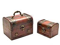 Сундучки набор 2 шт. (15х11,5х11,5  11х8х8 см)