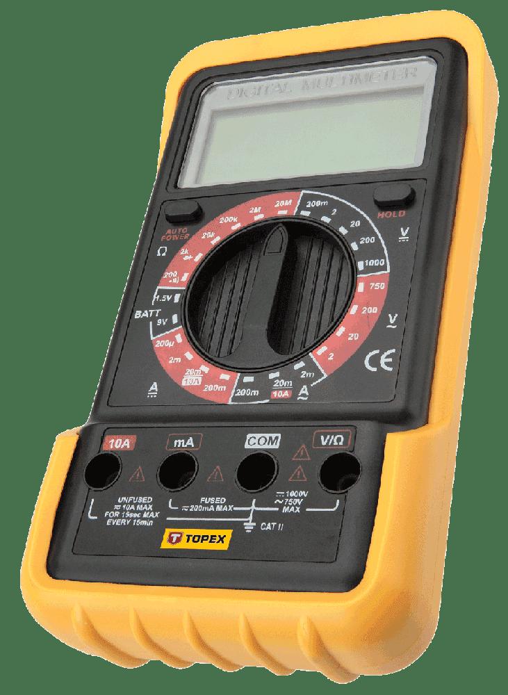 Мультиметр цифровий, 94W102, Topex
