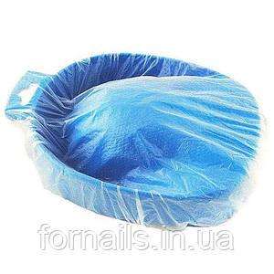 Чехол на ванночку для маникюра 35*35 см 25 шт в упаковке, прозрачный