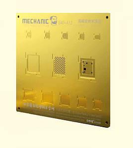 3D BGA Трафарет Mechanic S40-A12 для iPhone XS | iPhone XS Max | iPhone XR