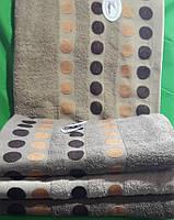 Полотенце банное махра