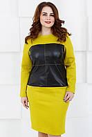 Женское платье нарядное Lipar Оливковое