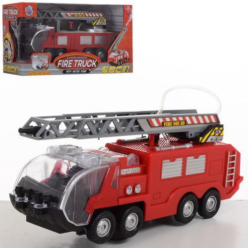 Іграшкова Пожежна машина бризкає водою SY755-756 24 см