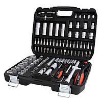 Набір інструментів з покращеною трещіткою BOXER 108 од. [Протиударний кейс]