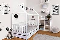 Детская кровать Доминик из массива бука