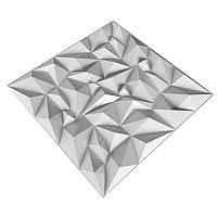 Декоративные объемные 3Д панели из ПВХ D101
