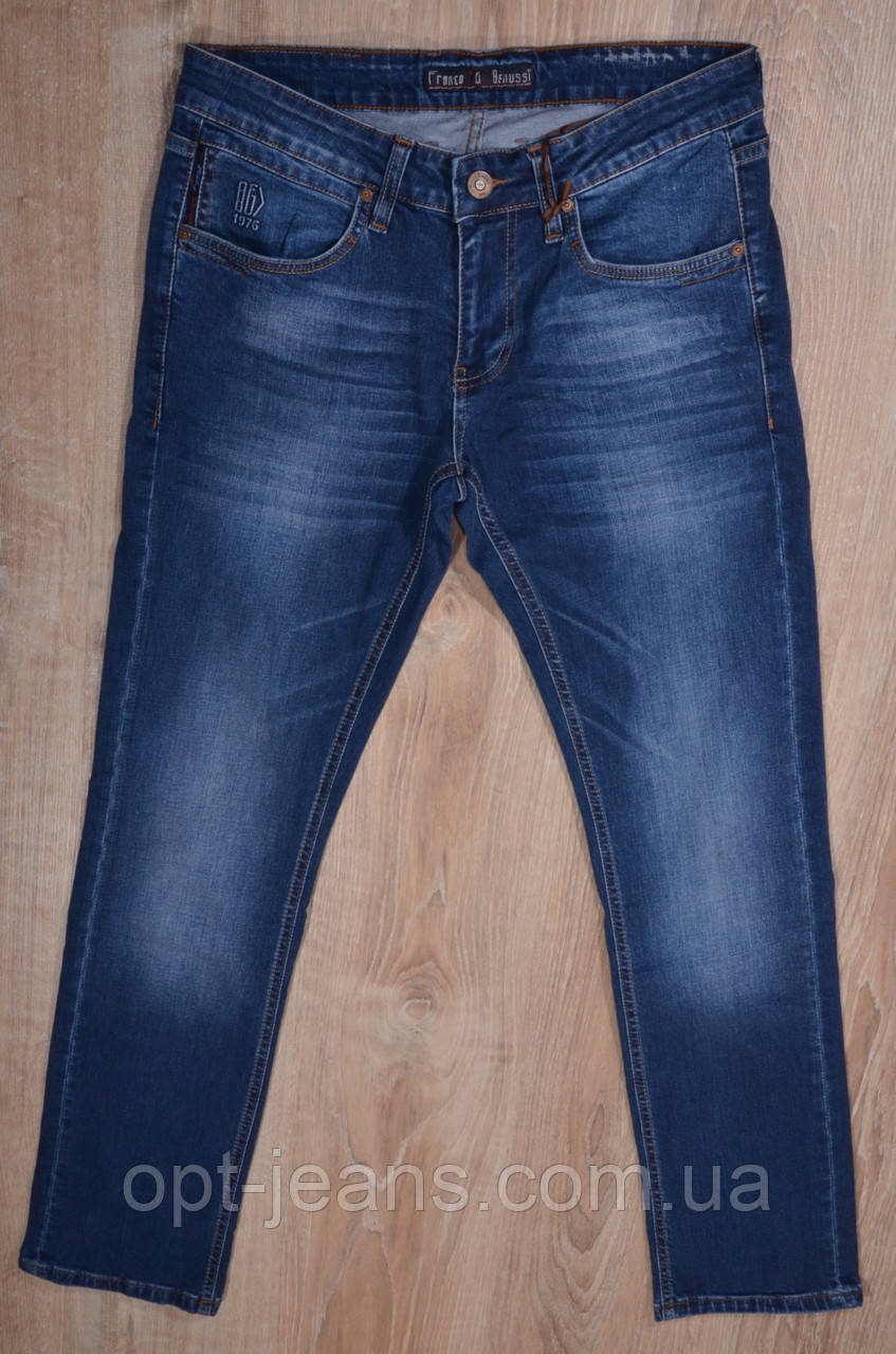 FRANCO BENUSSI мужские джинсы  (30-38/8ед.)  Демисезон 2020