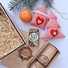 Набір подарунковий №4 подарочный набор с иван-чаем, игрушкой и сладостями, фото 2