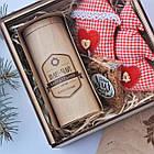 Набір подарунковий №4 подарочный набор с иван-чаем, игрушкой и сладостями, фото 3