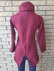 Гольф, кофта, свитер женский  на флисе высокого качества FLANEL , Турция, фото 2