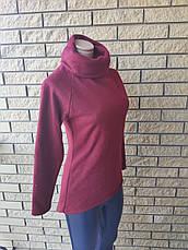 Гольф, кофта, свитер женский  на флисе высокого качества FLANEL , Турция, фото 3