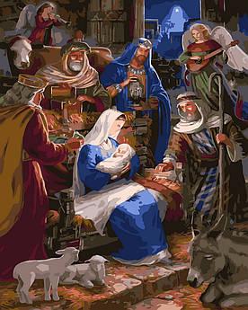 Картина по номерам Рождество (BK-GX32957) 40 х 50 см