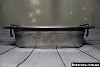 Гастрономический контейнер из нержавеющей стали GN 1/4-65 Helios (7870)