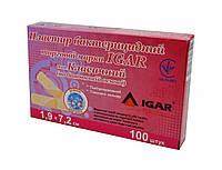 Пластир бактерицидний ІГАР Класичний 1.9*7.2 см (уп 100 шт.)