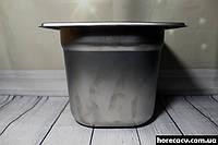 Гастрономический контейнер из нержавеющей стали GN1/6-150 Helios (7847)