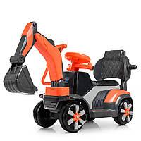 Дитячий Трактор M 4141L-7, оранжовий, фото 1
