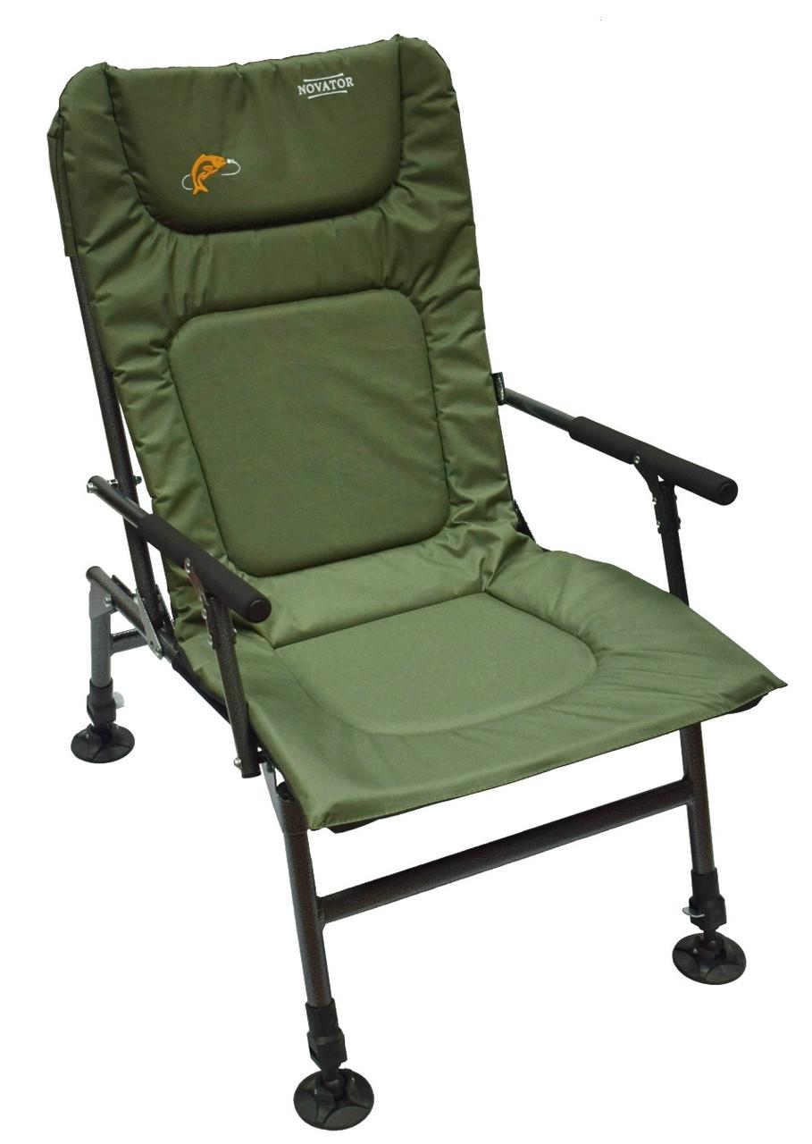 Кресло рыболовное складное Novator SF-1 (Кресло для рыбалки туристическое кресло карповое кресло)