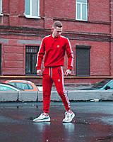 Спортивный костюм мужской Adidas CL Х RED | осенний весенний Комплект Свитшот + штаны ТОП качество