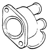 Фланец термостата GM 13148982 Z32SE C25XE X25XE Y26SE X30XE OPEL Vectra-A/B/C Signum Sintra Calibra