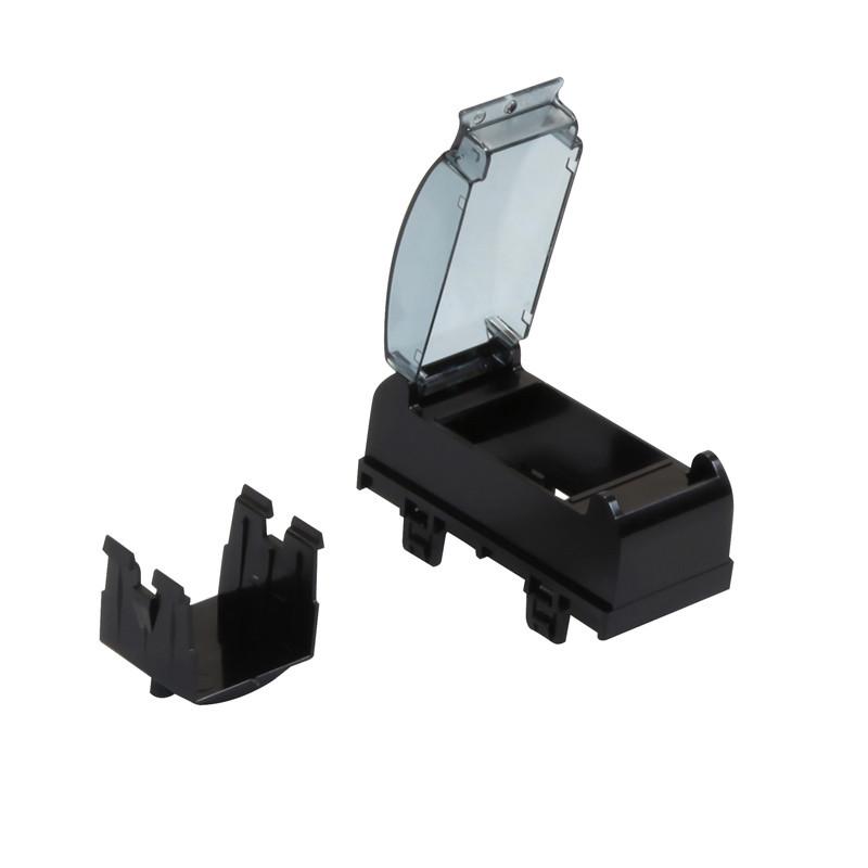 Супорт для модульного обладнання, колір чорний