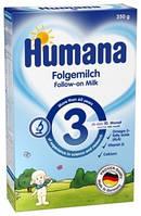 Сухая молочная смесь Humana 3, с пребиотиками-галактоолигосахаридами, 350 г