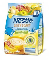 Молочная каша Nestle Рисово-кукурузная с яблоком, бананом и абрикосом, 230 г