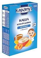 Молочная каша Карапуз Кукурузная с абрикосом, 250 г