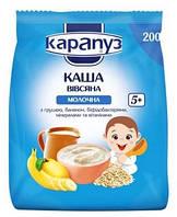 Молочная каша Карапуз Овсяная с грушей, бананом и бифидобактериями, 200 г