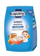 Молочная каша Карапуз Пшеничная с тыквой, бифидобактериями, минералами и витаминами, 250 г