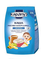 Молочная каша Карапуз рисово-кукурузная с минералами и витаминами, 250 г