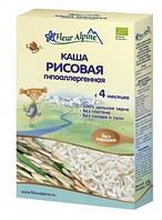 Каша безмолочная Fleur Alpine Органик Рисовая гипоаллергенная, 175 г