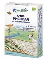 Каша на козьем молоке Fleur Alpine Органик Рисовая, 200 г