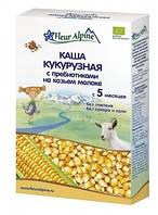 Каша на козьем молоке Fleur Alpine Органик Кукурузная с пребиотиками, 200 г