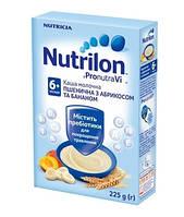 Молочная каша Nutrilon пшеничная с абрикосом и бананом, 225 г