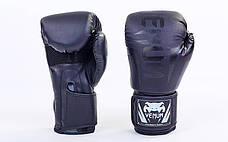 Перчатки боксерские PU на липучке VENUM CHALLENGER BO-5698, фото 2