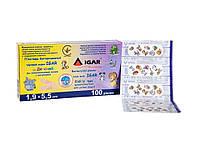 Пластырь бактерицидный ИГАР Детский 1.9*5,5 см (уп 100 шт.)