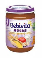 Молочная каша Bebivita Спокойной ночи, с яблоками и бананами, 190 г