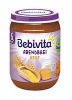 Молочная каша Bebivita Спокойной ночи, с печеньем, 190 г