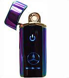 Електроімпульсна USB Запальничка H1 з сенсорним включенням Mercedes, фото 2