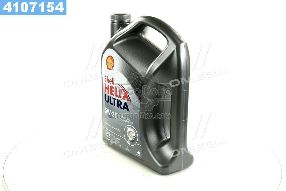 Масло моторное SHELL Helix Ultra SAE 5W-30 SL/CF (Канистра 4л)  4107154