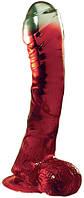 Фаллоимитатор  LAZY BUTTCOCK 6.5 RED DONG, 17х3,5 см.
