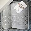 Набор махровых полотенец Sikel 50х90 и 70х140 см светло серый
