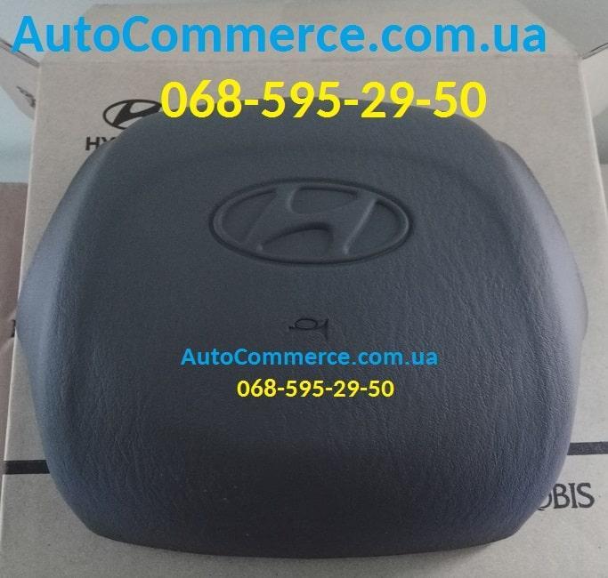 Кнопка звукового сигнала (накладка на руль) Hyundai HD65, HD78, HD72 Хюндай HD(561505h000th)