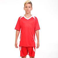 Футбольная форма подростковая Perfect, PL, р-р 24-30, рост 120-150см., красный (CO-2016B-(rd))