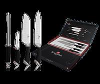 Набор ножей 4 пр. Berlinger Haus BLACK ROYAL Collection BH 2017
