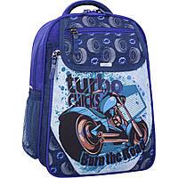 Рюкзак школьный Bagland Отличник 20 л. 225 синий 551 (0058070), фото 1