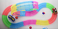 Детский игрушечный трек для машинок на пульте управления Dazzle Tracks 326  деталей