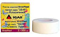 Пластырь на катушке ИГАР RiverPLAST Классический белый 2 см х 5 м